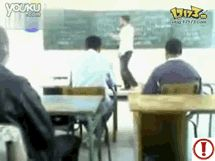 i slap you if you two fight in my class